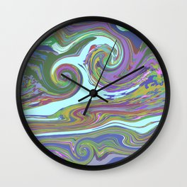 BRIGHT MIX Wall Clock