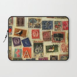 Stamp Collection Laptop Sleeve