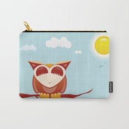 Owl alseep Carry-All Pouch