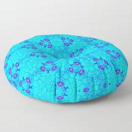 Blue By Design II Floor Pillow