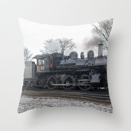 Strasburg Railroad Series 18 Throw Pillow
