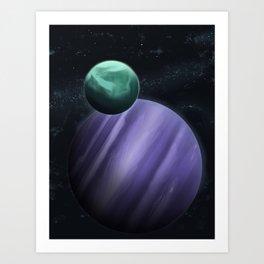 Deep Space Art Print