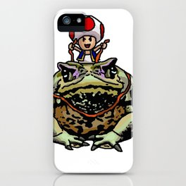 Toad Racing iPhone Case