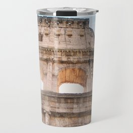 145. Coliseum and light, Rome Travel Mug