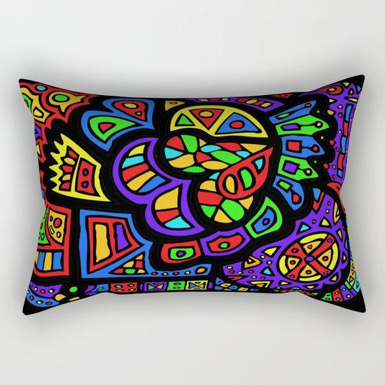Abstract #426 Rectangular Pillow