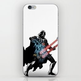 Darth Vader Force Guitar Solo iPhone Skin