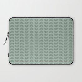 Silt Green Green Leaves Laptop Sleeve