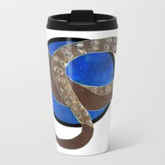 Creature of Water (porthole edit) Metal Travel Mug