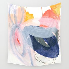 abstract painting XVII Wall Tapestry