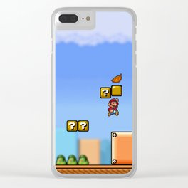 World 1-1 Clear iPhone Case