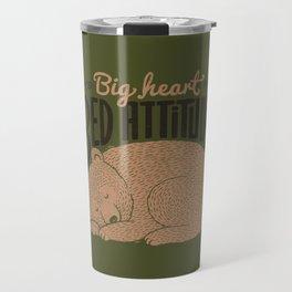 Big Heart Bed Attitude Travel Mug