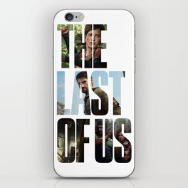 The Last of Us (Tlou Collage) iPhone Skin