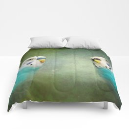 The Budgie Collection - Budgie Pair Comforters