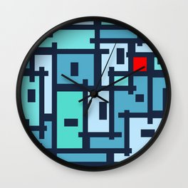 Urban Abstract for Ot Wall Clock