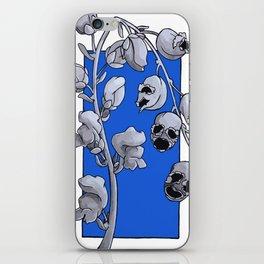 Macabre Snapdragons iPhone Skin