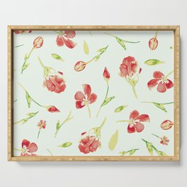 Spring Blooms Serving Tray