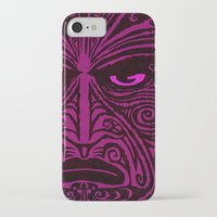 maori iPhone & iPod Cases featuring Maori style 02 by Alexis Bacci Leveille