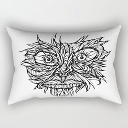 Face Flow Line Rectangular Pillow