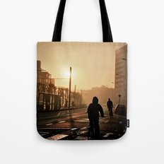 Foggy City Tote Bag