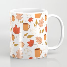 White autumn pattern Coffee Mug