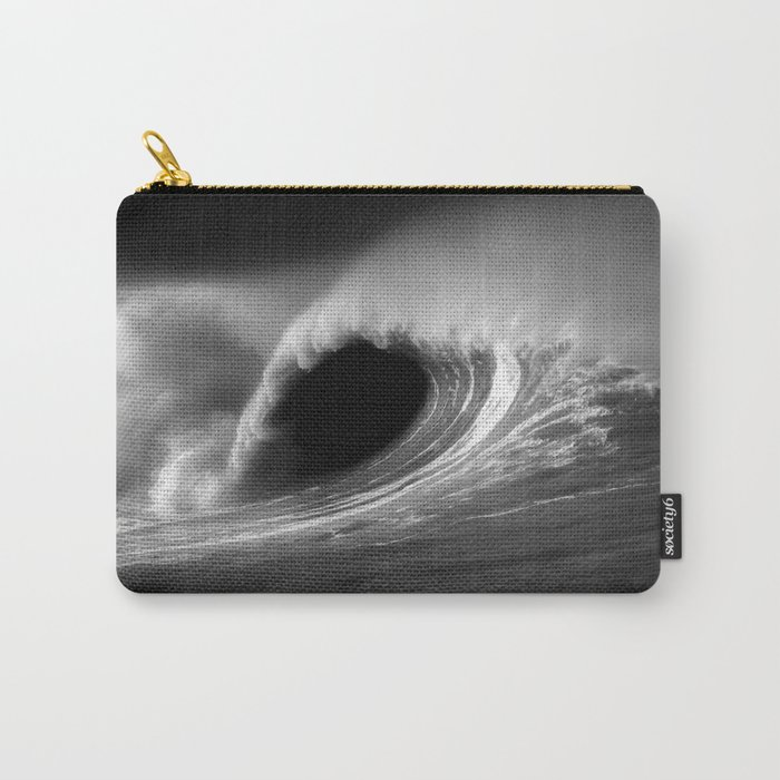 More Fun With Big Waves Carry-All Pouch