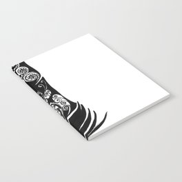 Black Feather Notebook