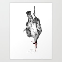 Voodoo Birds Art Print
