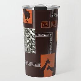 African Tribal Pattern No. 28 Travel Mug