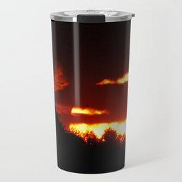 Sunset in Bieliczna 2 Travel Mug