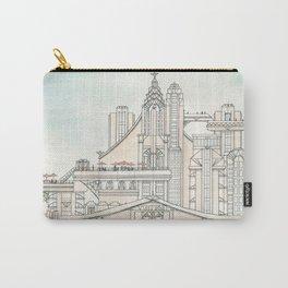 Art Deco Castle Carry-All Pouch