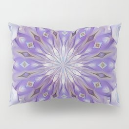 Light winter mandala Pillow Sham