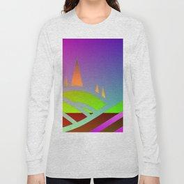 Surreal landscape Long Sleeve T-shirt