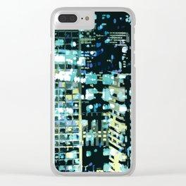 City Never Sleeps 1 Clear iPhone Case