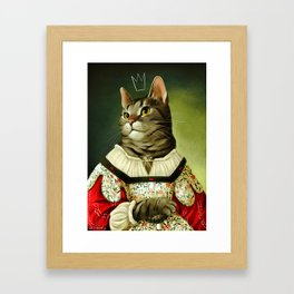 Lady Mimi Framed Art Print