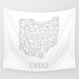 Ohio LineCity W Wall Tapestry