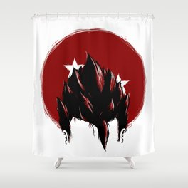 Gohan Illustration Shower Curtain