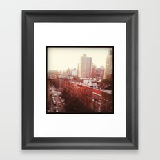 The Upper East Side (An Instagram Series) Framed Art Print