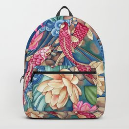 Koi Pond Backpack