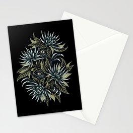 Hidden Creatures - Grey / Khaki Stationery Cards