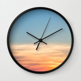 Summer Sunsets Wall Clock