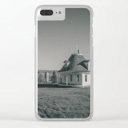 Hurd Round House, Wells County, North Dakota 28 Clear iPhone Case