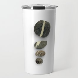 Four Pebbles Vertical Sequence Travel Mug