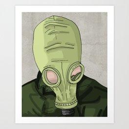 Dead Man's Shoes Art Print