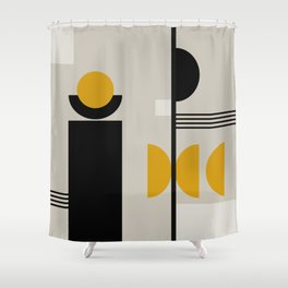 Geometrica 13 Shower Curtain