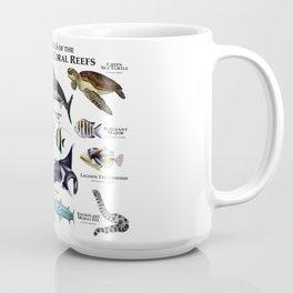 Animals of the Hawaiian Coral Reefs Coffee Mug