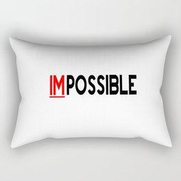 I Am Possible Rectangular Pillow