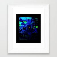 dot Framed Art Prints featuring DOT by mimulux