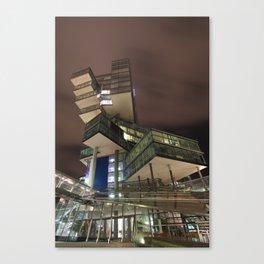 Nord/LB Hanover at Night Canvas Print