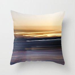 Sunset Sweep Throw Pillow