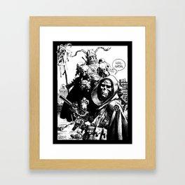 Marauders Framed Art Print
